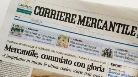 Corriere Mercantile chiuso da 7 mesi
