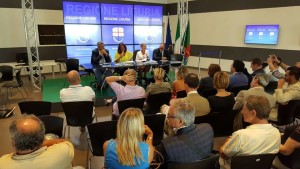 Conferenza Stampa in Regione a Genova