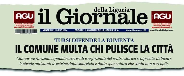 Il Giornale della Liguria – Giornalisti senza stipendio da 6 mesi